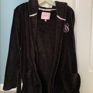 Victoria's Secret fleece robe